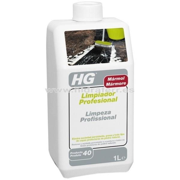 Hg limpiador profesional para m rmol 1l ferreter a for Limpiador para marmol
