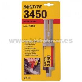 LOCTITE EA 3450 A+B ADHESIVO EPOXI CINCO MINUTOS ACERO 25ml
