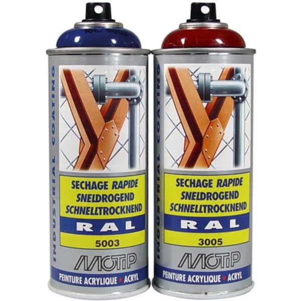 Motip pintura acr lica spray ral ncs 9005 mate - Pintura acrilica spray ...