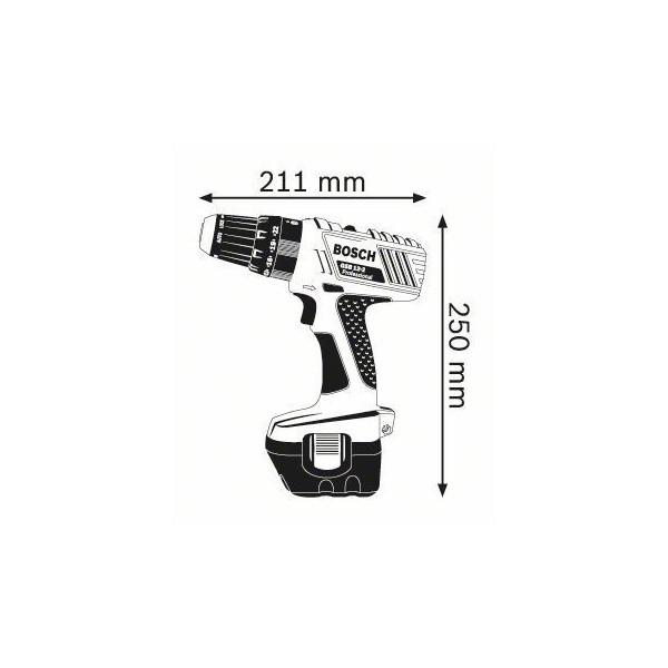 cordless drill bosch gsb 12 2 v professional ferreter a. Black Bedroom Furniture Sets. Home Design Ideas