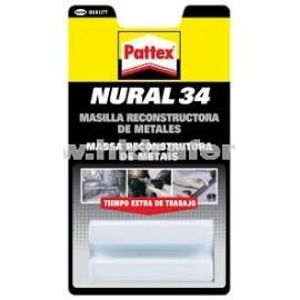 NURAL 34 Masilla Metales
