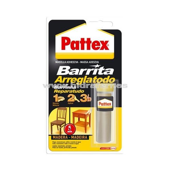 Barrita arreglatodo masilla madera pattex ferreter a - Masilla para reparar madera ...