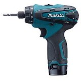 "MAKITA DRIVER-DRILL 10,8V 1/4"" HEX Lithium-ion"