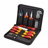 TOOLS SETS FOR SWITCH CABINET CONSTRUCTION PHILLIPS (31 PCS) WIHA