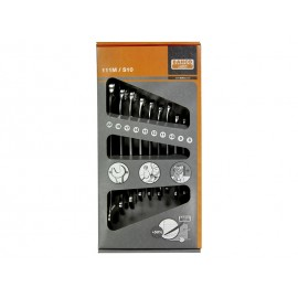 SET OF 10 COMBINATED WRENCHES BAHCO 111M/S10 METRIC SIZES