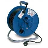 ENROLLACABLE 25m x 1.5mm 3 TOMAS CON TAPA 765001