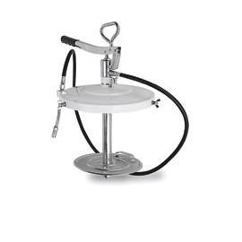 Bomba engrase industrial a pedal 5 kg, con manguera de 2 m