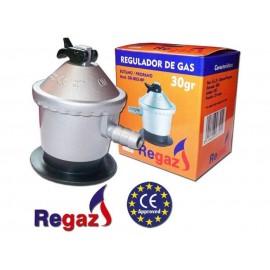 """Regaz Regulador de gas 30GR/CM"""" RK-30V doméstico"""