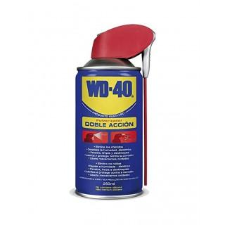 WD-40 Lubricante Multiusos 250 ml Doble Acción