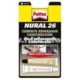 NURAL 26 Cemento Reparador Construcción