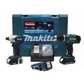 COMBO DRIVER DRILL MAKITA 18V 3.0Ah BHP453Z + BTD140Z